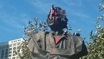 Detroit's Christopher Columbus statue vandalized
