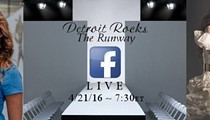 Detroit designers use Facebook Live feature for fashion show