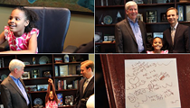Gov. Snyder co-opts a positive Flint moment, invites the little girl who wrote Obama to Lansing