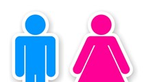 Why's a 9-year-old girl using the boys' bathroom at her school?