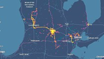 Cellphone data shows protesters dispersed across Michigan, raising concerns of spreading coronavirus