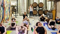 The Beer Yogis will help you combine a pint with your pranayama