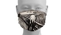 The DIA is now selling a face mask depicting 'The Scream,' which just about sums up how we feel these days