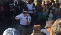 Video: Kalamazoo cop dances to Tupac at Black Lives Matter walk