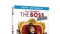 The Boss DVD+Blu-Ray