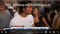 Swoon: Mark Wahlberg rolls out the red carpet for VIP Wahlburgers preview party