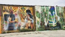 Mural vandalized in Southwest Detroit