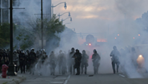 Detroit police turned violent, firing tear gas and flash grenades into a peaceful crowd on Sunday