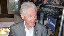 Former President Bill Clinton makes surprise Pontiac appearance