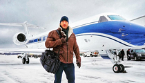 The Rock is enjoying our snow storm more than you
