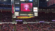 VIDEO: This little kid was the real MVP at a recent Red Wings game