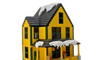 LEGO enthusiast and his daughter built a replica of A Christmas Story house