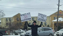 This Kalamazoo man protesting Groundhog Day is a hero