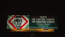 Shepard Fairey takes on Trump's vile stance on police brutality in new Detroit  billboard campaign