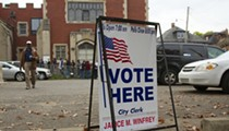 Open carry of guns at polling places in Michigan is banned to limit voter intimidation