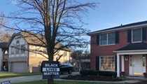 Grosse Pointe Shores tickets man for Black Lives Matter sign, claiming it's too big