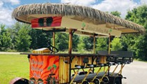 A tiki-themed pedal pub is coming to Detroit