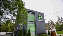 A three-story marijuana dispensary just opened in East Lansing