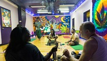 What it's like to do a smoke session at Detroit's 420-friendly yoga studio