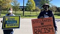 Amid foul odor, Detroit residents demand meeting with Stellantis but are rebuffed