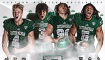 We need to talk about Eastern Michigan University's new football poster