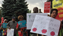 Tax foreclosure protesters to Wayne County treasurer: You have the power to stop this