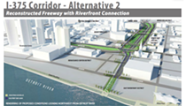 Survey: Detroit residents want to keep freeway that flanks downtown