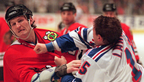 Thirty years ago today, Bob Probert thrashed Wendel Clark in Toronto