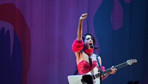 Review: St. Vincent's Detroit stop was gloriously weird