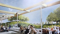 Why are actors from <i>The Wire</i> in a Detroit park rendering?
