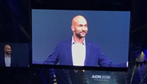 Keegan-Michael Key opened a Quicken Loans company meeting at LCA today and no one knows what's going on
