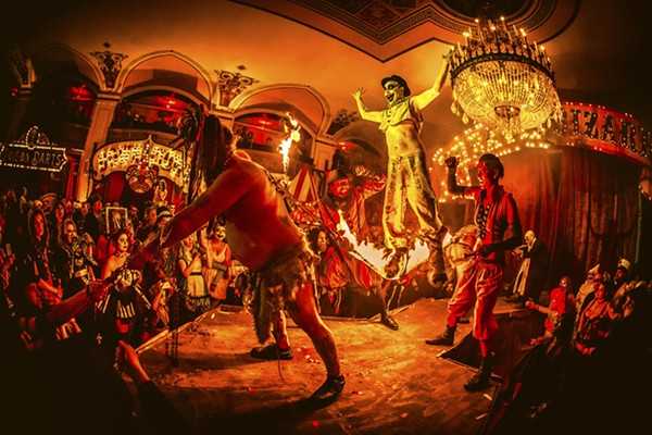Theatre Bizarre returns to Detroit's Masonic Temple for weekend No. 2