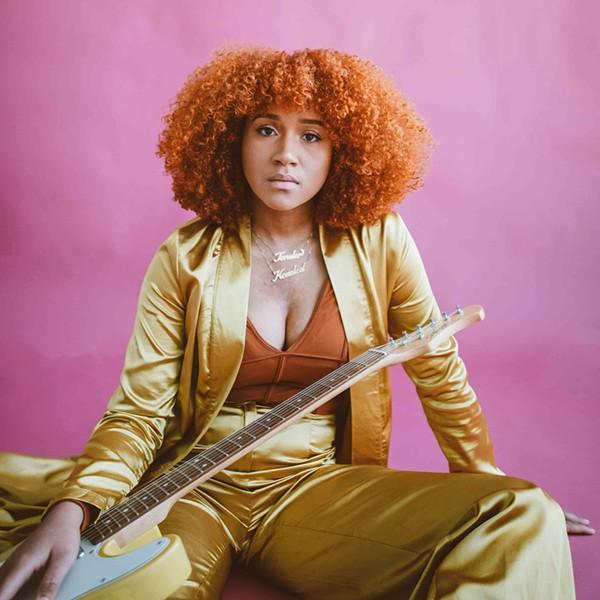 R&B singer Charity makes music for Detroit, in Detroit