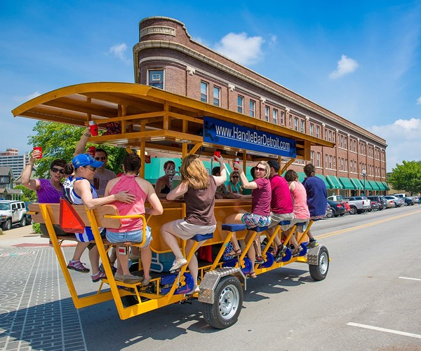 Pedal Pubs Gearing Up To Hit Metro Detroit Table And Bar