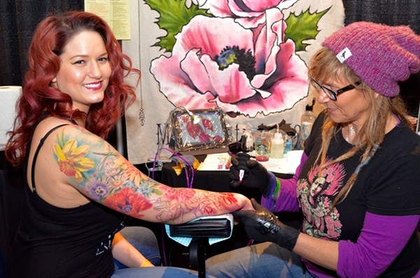 First annual summer motor city tattoo expo takes over ren for Tattoo expo seattle