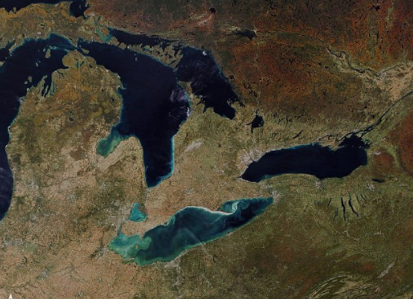 You Can See Michigan S Fall Colors From Outer Space The