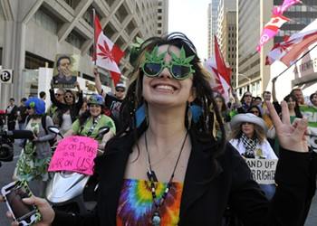 Recreational pot is now legal in Canada