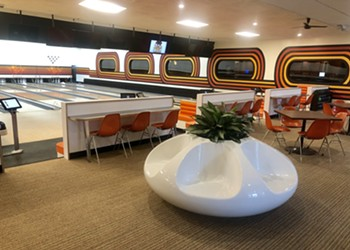Inside the groovy redesign of Royal Oak's Bowlero bowling alley
