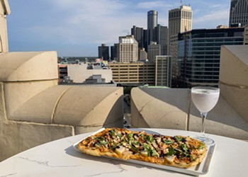 Detroit's Monarch Club is a room with a view