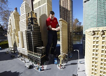 Michigan's new Legoland needs help deciding which Detroit landmarks to re-create in Lego form