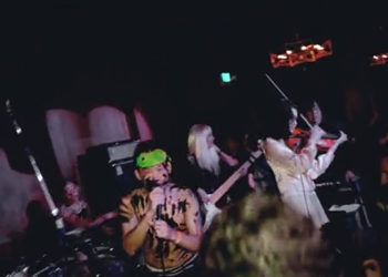 Street artist David Choe looking for a Detroit venue for his band Mangchi