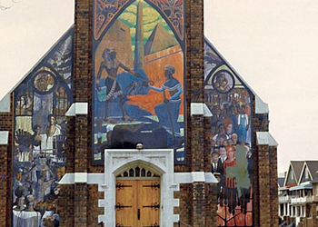 In search of Detroit's lost walls of dignity, freedom, and pride