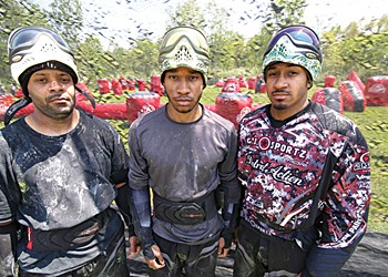 Their aim is true: the obsessive world of tournament paintball