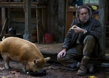 Nicolas Cage rises from the muck in 'Pig'