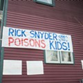 Hamtramckans give Gov. Rick Snyder a warm Hamtramck welcome