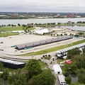 Park or race track? Belle Isle pictured in May 26, 2017.