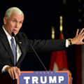 Vice President Mike Pence is in town to give Schuette a boost