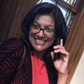 Democrat Rashida Tlaib stumps for Muslim progressive, gets heckled by alt-right witch