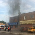 Hamtramck's Aladdin Sweets and Cafe catches fire