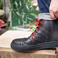 Shoemaker Pingree Detroit employs vets to make the first sneakers manufactured in the Motor City